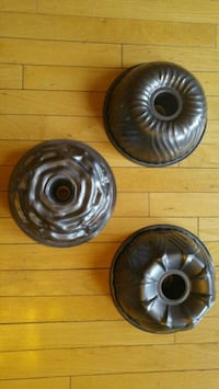 Specialty bundt cake pans 3 for $30 Mississauga, L5M 7P2