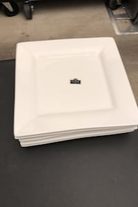 Qty. 5 - Approximately 12 inch by 12 inch plates