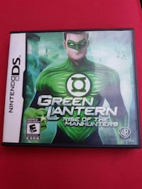 Green lantern DS game .....