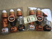 Halloween decorations total 18 nine in each box new never used Freehold township, 07728
