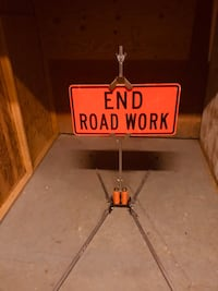 Roadwork sign commercial grade Rockville, 20852