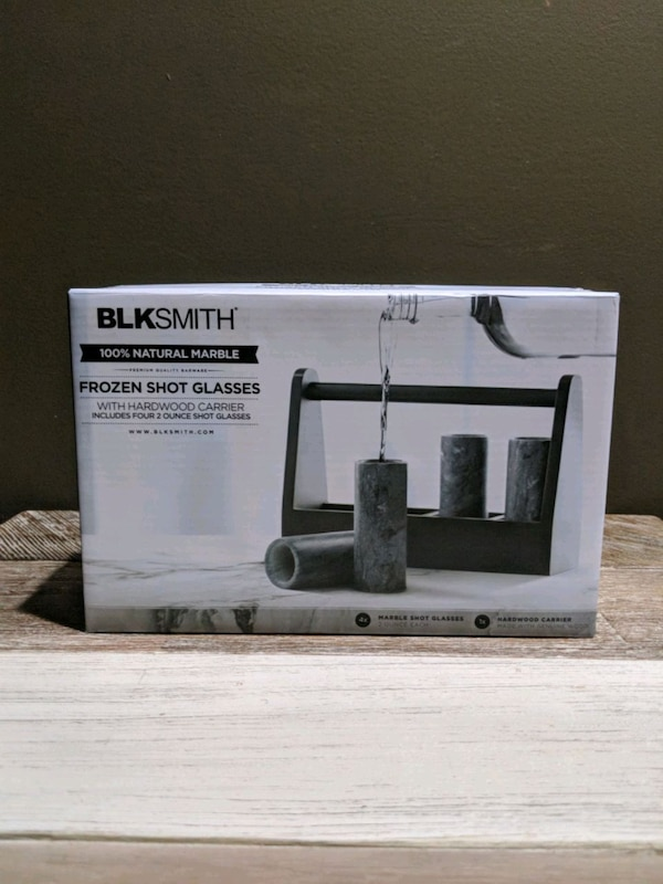 BLK Smith Shot Glasses