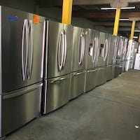 Stainless steel French doors fridge working perfectly $499.00 & up Baltimore, 21223