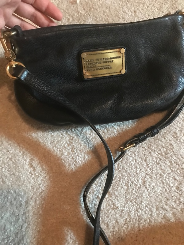 Marc Jacobs mini leather bag. Bought it for $300 a few years ago at Holt Renfrew
