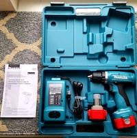 Makita cordless drill driver outfit with case