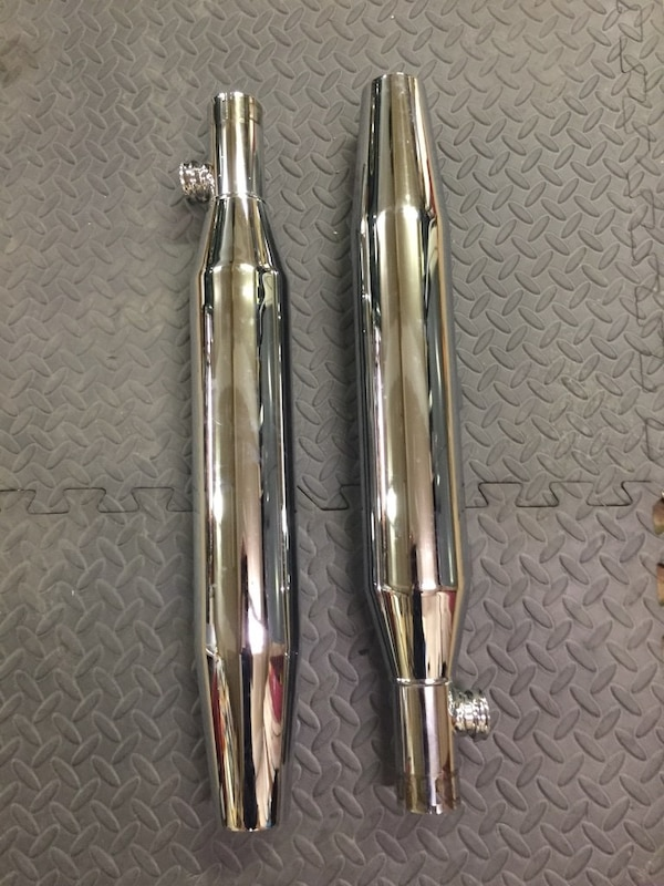 Brand new stock mufflers for Harley Davidson Sportster e80f23d1-1220-4682-a1c4-2c9258f4861a