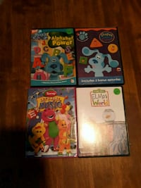 Kids educational movies. $2.00 for all Avenue, 20609