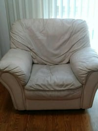 Leather chair and ottoman Concord, 94518