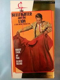 The Bullfighter and the Lady vhs