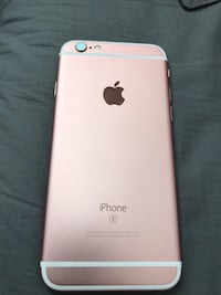 Rose gold iphone 6s  null