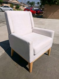 White Modern Accent Chair West Covina, 91790