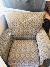 brown and black floral sofa chair Capitol Heights, 20743