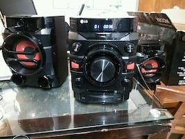 LG 230-Watt Bluetooth Hi-Fi Audio Stereo Sound System & CD Player