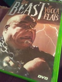 THE BEAST OF YUCCA FLATS DVD