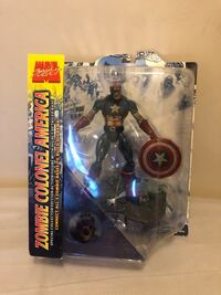 Marvel Select Zombie Colonel Captain America Figure  New York, 10036
