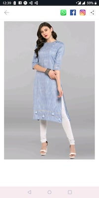 women's blue denim kurti Mumbai, 400011