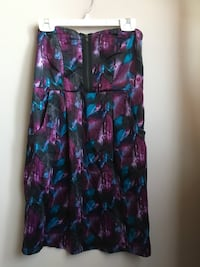 women's multicolored strapless midi dress Winnipeg, R2G 4C7