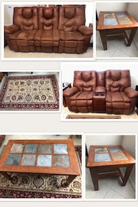 Beautiful & fully functional 6 piece living room set from ashley furniture