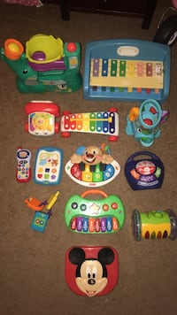 Lots of baby/ toddler learning toys. $$$ all under $5