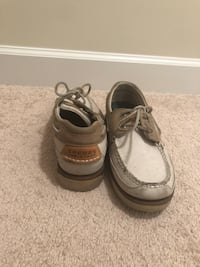 pair of gray Sperry boat shoes Waldorf, 20603