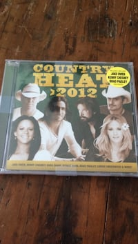 2012 country heat compact disc case