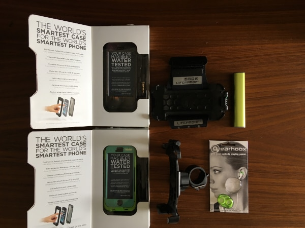 official photos f2f4a 7ce9c iPhone 5/5S/SE Bundle. LifeProof Case, Bike Mount, Armband, Power Bank
