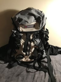 Black and gray high-sierra backpack Lovettsville, 20180