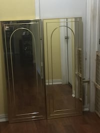 Wall decor, gold plated mirrors x2.  $30 each or both for $50 Kirby, 78219