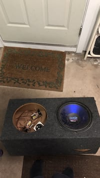 11in dual sub enclosure with parts and sub South Windsor, 06074