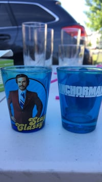 2 for 1 Anchorman Movie Shot Glasses Fairfax, 22033