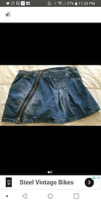 Nevada jeans skirt size 8