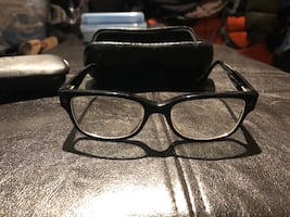 Chanel eyeglasses with two cases
