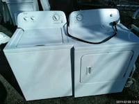 white washer and dryer set Fairmount Heights, 20743