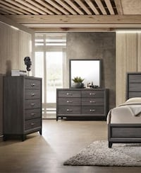 [CLEARANCE] Akerson Gray Chest | B4620 $229.00 Houston, 77036