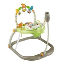 baby's green and white jumperoo Toronto, M1J 3E4
