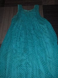 Blue/Turquoise Dress 2273 mi
