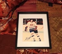 Guy Lapointe signed and framed photo  Châteauguay, J6K