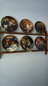 Rockwell decorative plates Kitchener, N2R 1C7