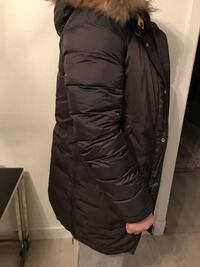 svart zip-up boble vest Oslo, 1283