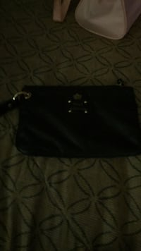 black and gray leather bag Schaumburg, 60195