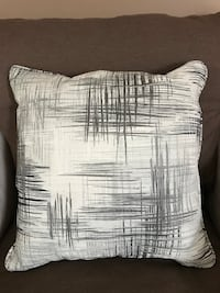 "2 throw pillows - 12""x12"""