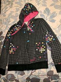 $5 women size small O'Neal hoodie zip up Apple Valley