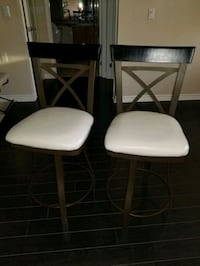 2 Counter Height Chairs
