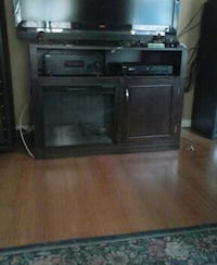 flat screen TV with TV stand