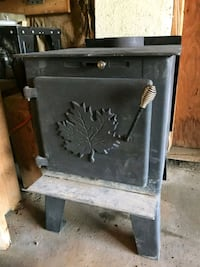Woodstove rated for approximately 1200 square feet Kingston, K7P 3A7