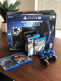 Sony PS4 console with controller and Rocksmith set Vancouver, V6B 2X6