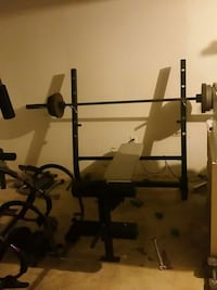black and grey incline bench press Rochester, 14609