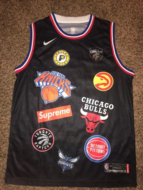 622774b9706 Used Nike Supreme collab basketball jersey for sale in West Melbourne