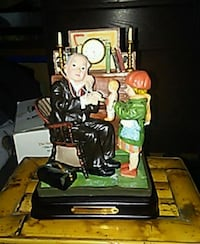 """""""Doctor & The Doll"""" Norman Rockwell {CLOCK} West Fargo"""