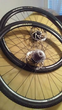 black and gray bicycle wheel Victoria, V9A 2A9